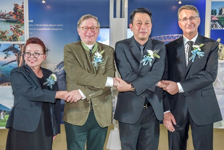 Opening ceremony of AOT Sister Airport Exhibition 'Munich Airport – Gateway to Bavaria' by Flughafen München GmbH