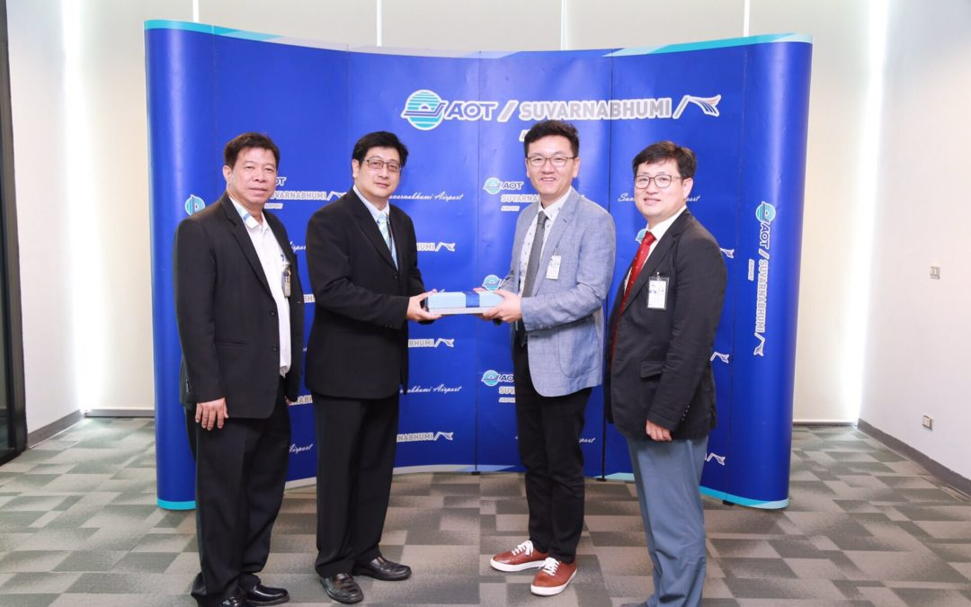 Delegation of Incheon International Airport Corporation (IIAC) visited BKK and CNX