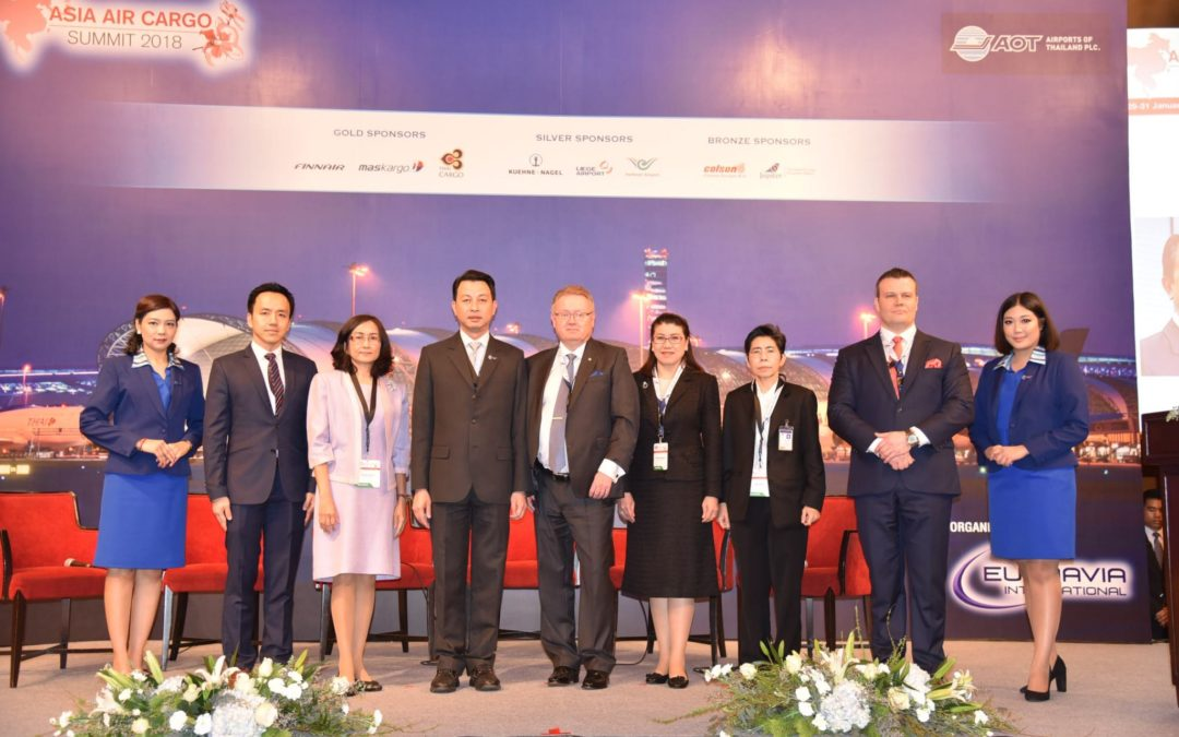 AOT hosts Asia Air Cargo Summit 2018