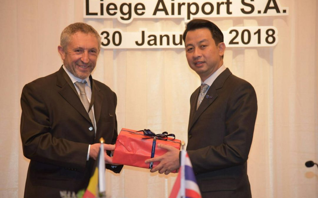 AOT Signs Sister Airport Agreement with Liege Airport S.A.