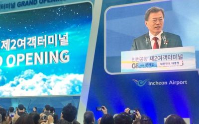 AOT Executives attended Opening Ceremony of Terminal 2, Incheon International Airport
