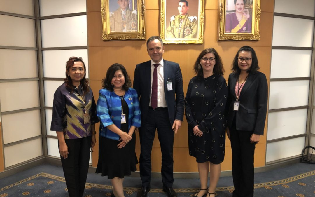 Eurotrade delegates visited Suvarnabhumi Airport for an overview on Commercial activities