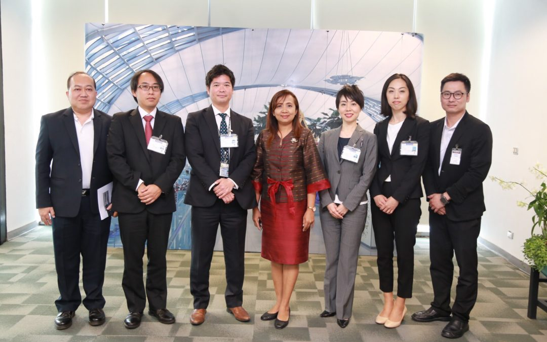 AOT welcomed representatives from Narita International Airport Promotion Foundation (NPF) to Suvarnabhumi Airport