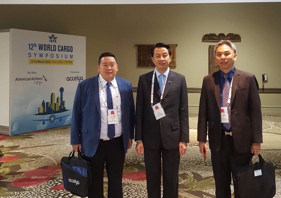 AOT Executives attended 12th World Cargo Symposium