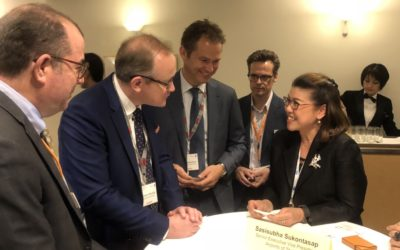 AOT Executive attended ACI World Business Partner Meeting