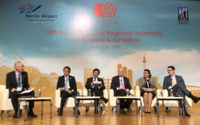AOT Executive participated as a panelist at 13th ACI Asia Pacific Regional Assembly, Conference and Exhibition