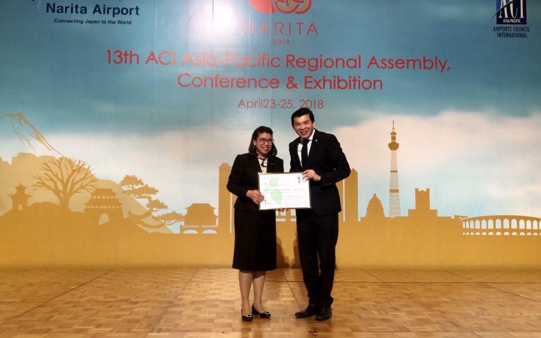 AOT's airports were certified at level 3 of Airport Carbon Accreditation Program