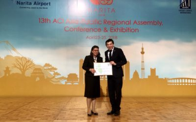 (English) AOT's airports were certified at level 3 of Airport Carbon Accreditation Program