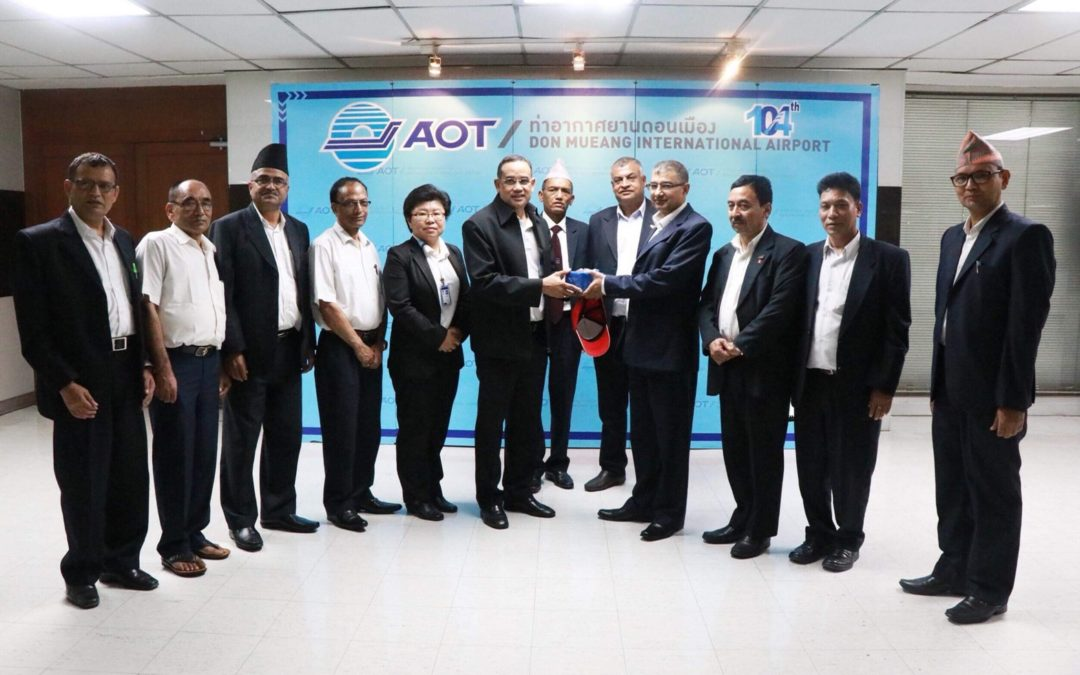 AOT and AeroThai organized Aviation Administration and Financial Management  Training Course for Civil Aviation Authority of Nepal