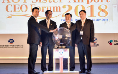 AOT Sister Airport CEO Forum 2018 at Centara Grand & Bangkok Convention Centre at CentralWorld, 11 – 13 July 2018