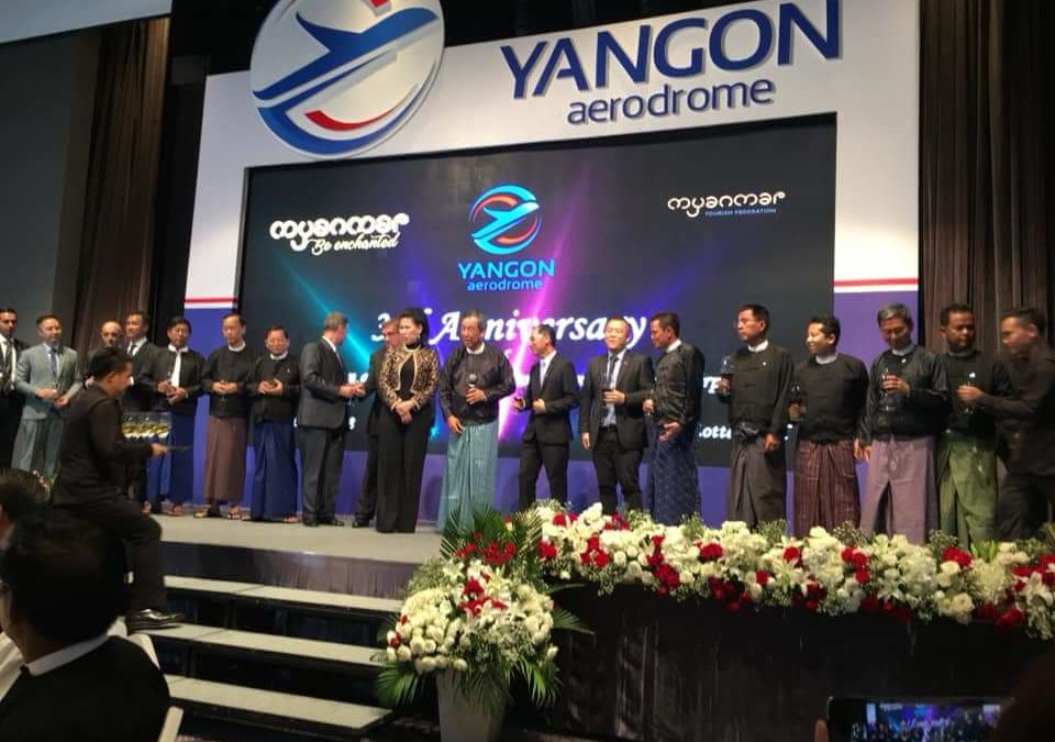 Yangon Aerodrome Co., Ltd. (YACL) 3rd Anniversary Celebration