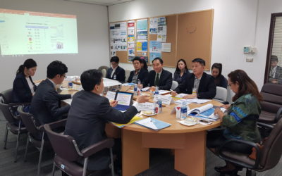 AOT welcomed Narita International Airport Corporation delegates